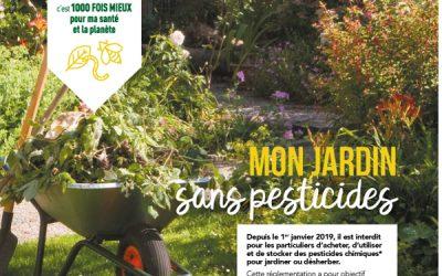 Depuis le 1er janvier 2019 : plus de pesticides chez les particuliers aussi