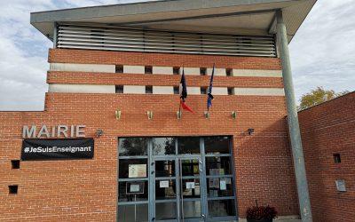 La mairie d'Auzeville rejoint l'appel à l'hommage national en mémoire de Samuel Paty